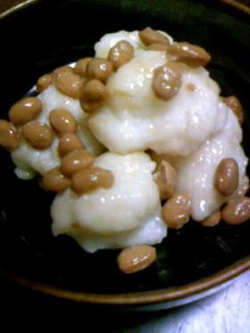 素朴な納豆餅