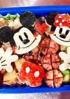 お弁当☆ミッキー&ミニー☆