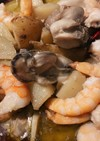 【本格】タコと牡蠣のアヒージョ