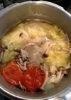 薬膳風;手羽元とキャベツのスープ