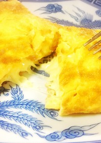とろ〜り ♪ チーズオムレツ