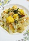 白い野菜のカポナータ