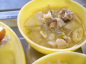 芋煮(味噌仕立て)