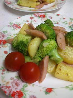 ♡ブロッコリーとポテトのガーリックソテー