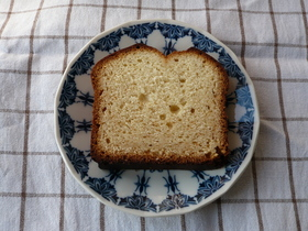 はちみつと砂糖のケーキ