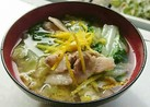 ほっこり~白菜と豚バラの塩こうじスープ