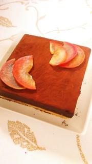 生チョコケーキの写真