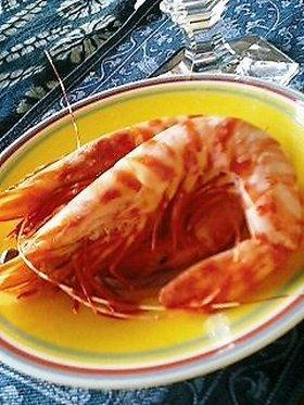 きれい海老照り煮