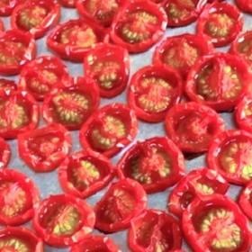 セミドライトマトの作り方