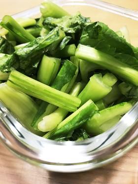 簡単!家にある調味料で野沢菜漬物