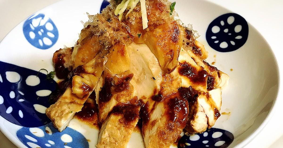 食べる醤油⭐️しっとり鶏むね肉漬け焼き by みみみみみえこ ...