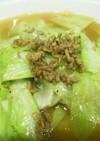 キャベツラーメン豚骨醤油味 袋麺で簡単♪