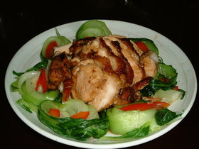 鶏胸肉のてり煮