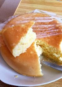 炊飯器でパウンドケーキ風2