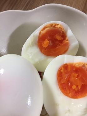簡単!ツルッとゆで卵の作り方(^^)