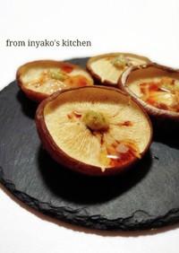 ⌘ 原木肉厚どんこ椎茸焼 ⌘