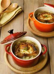 簡単♪オニオングラタンスープの写真