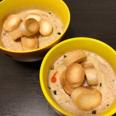 台湾の定番朝ごはん!豆乳スープ(鹹豆漿)