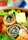 お弁当にも☆くるくる豚巻海苔チーズフライ