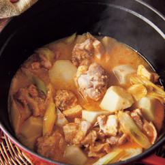 とり肉と里いものピリ辛みそ煮