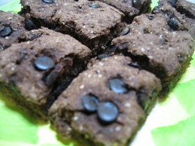 お豆腐で☆チョコレートのソフトクッキー