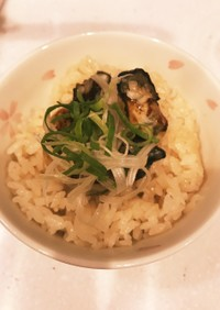 牡蠣胡椒ご飯˚✧₊⁎