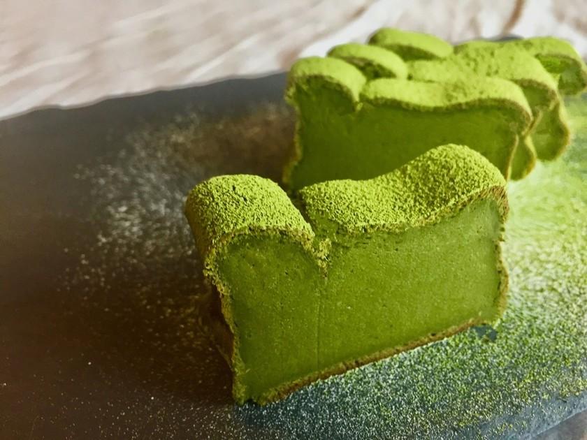 バター不使用!濃厚抹茶豆腐ガトーショコラ