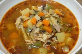 ブルガリア料理 本格チキンスープ