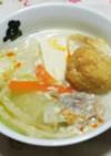 豆乳の簡単ヘルシーラ~油鍋。