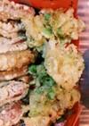 白菜と枝豆の天ぷら