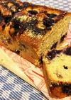 *ブルーベリー&チーズのパウンドケーキ*