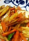 豆腐で青椒肉絲風