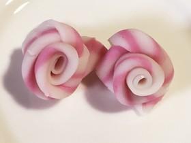 【簡単】キャラ弁 おかず なると 薔薇