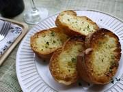 簡単♥♡ガーリックトースト(チーズ風味)の写真