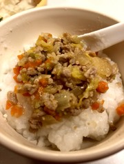 野菜と豚肉の味噌炒め♡離乳食後期〜完了期の写真