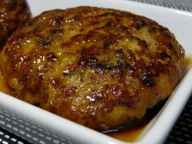 ふっくら☆芽ひじき入り豆腐ハンバーグ