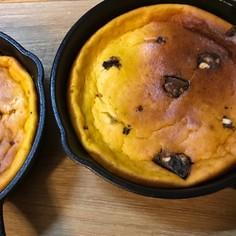 かぼちゃの酒粕ケーキ