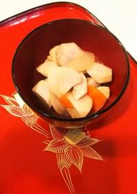 里芋と根菜の炊いたん♡