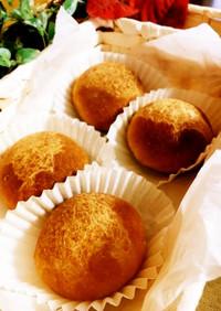 冷蔵&レンジ発酵★バターたっぷり丸パン