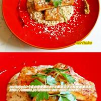 材料1つ☆長芋ステーキとトロトロソース♪