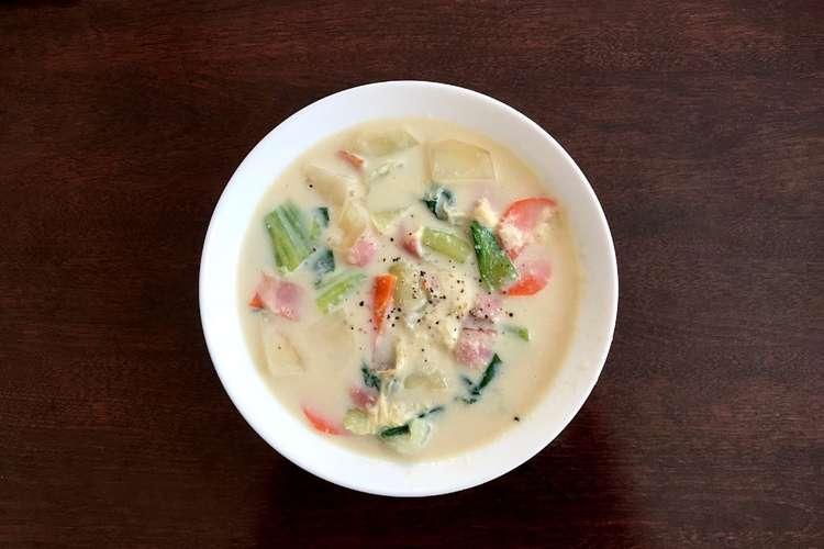 スープ 豆乳