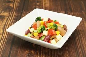 豆の彩りマリネサラダ