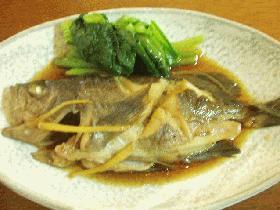 うちの煮魚(めばる・がしら・あじ・さばetc)