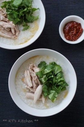 chicken congee ~中華鶏粥