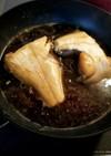 フライパンでカレイの煮付け(*´艸`)
