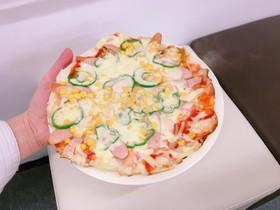 のびーるお餅ピザ