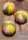 和菓子★レンジで簡単!ねりきり手毬