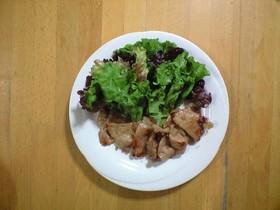 我が家の基本・定番~豚肉の生姜焼き
