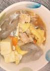 めんつゆで高野豆腐の煮物