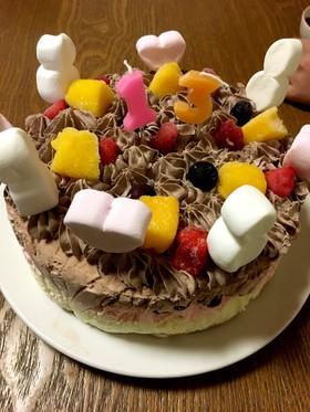 簡単☆アイスケーキ